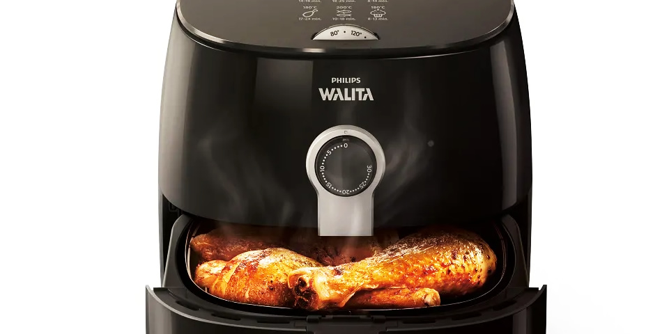 air fryer Walita TurboFryer frango
