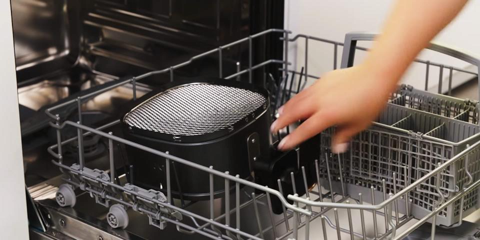 fritadeira na lavaloucas